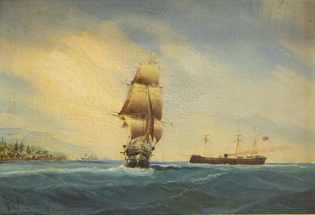 108- Charles DUBREUIL. Deux huiles sur toiles signées. 38x54cm. Adjugé 450€ (1)