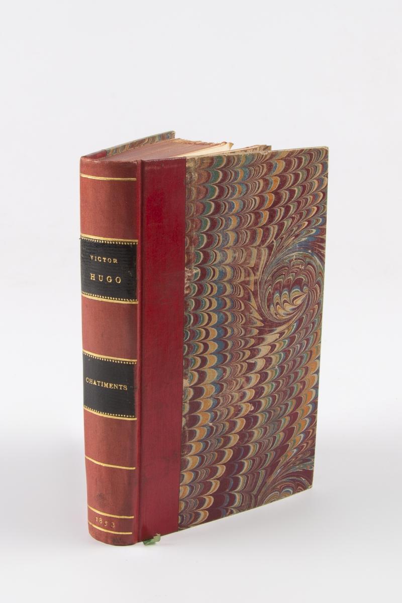 36 - HUGO Victor. Les châtiments 1853. Adjugé 280€ (1)