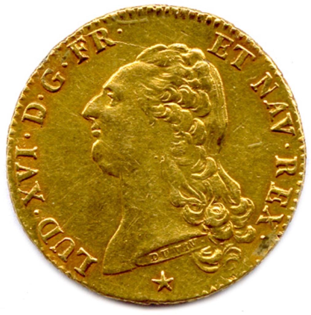32 Double Louis d'or au buste nu. Adjugé 1000€ (1) 2